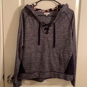Vera Bradley navy blue hoodie size M